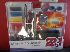 Nintendo Hipstreet Nintendo 3DS Super Kit 22 in 1 Care Kit NEW