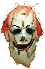 Clown Skinner Face Mask Scary Creepy Ear Of Pierce Belly Button Navel Horror