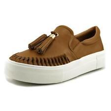 Zapatos planos de mujer mocasines de ante color principal beige