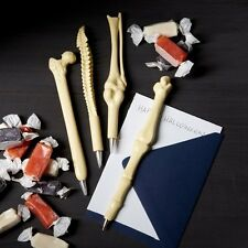 Novelty Ball Point Pen Lifelike Bone Shape Nurse Doctor Student Stationery Gift