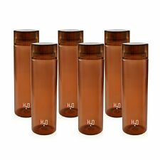 Plastic Fridge Refrigerator Water Bottle Set- 6 pieces, 1 L