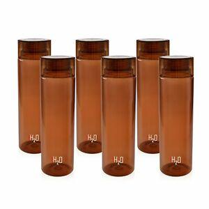 Plastik Kühlschrank Wasserflasche Set 6 Teile, 1 L