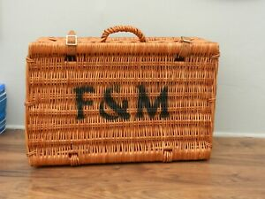 fortnum and mason  wicker hamper basket (1)
