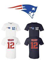 Tom Brady #12 New England Patriots Jersey player shirt