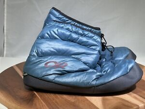 OUTDOOR RESEARCH Tundra Aerogel Booties - L - Blue