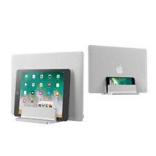 Double Vertical Laptop Stand Adjustable Holder MacBook Notebook tablet Mount