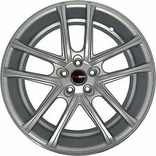 4 GWG Wheels 22 inch Silver ZERO Rims fits CHEVY CAPRICE 2011 - 2018