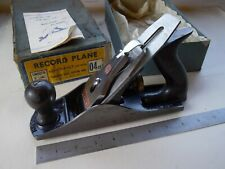 Record No.4-SS Smoothing Plane in Original Box