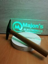 Martellina per saldatura con manico legno saldatrice ad elettrodo e filo animato