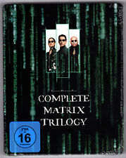 THE MATRIX TRILOGY BLU-RAY STEELBOOK NEU OVP SEALED RELOADED REVOLUTION SOLD OUT