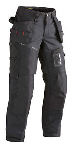 Blaklader Waterproof Softshell Knee Pad Work Trousers with Nail Pockets 15002517