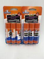 Elmer's Washable Disappearing Purple School Glue Sticks NEW Lot of 2