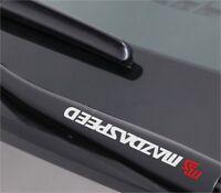 2x MS MAZDASPEED Aufkleber Aufkleber Emblem Logo