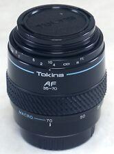 Minolta AF TOKINA 35-70mm AUTO ZOOM f/3.5 Lens SLR DSLR Camera SONY A Alpha