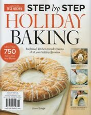 America's Test Kitchen Step by Step HOLIDAY BAKING Magazine 2019 RECIPES New!