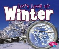 Let's Look at Winter (Investigate the Seasons)-ExLibrary