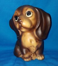"""Ceramic Dashund Vintage Figurine Made in Japan  Approx 5"""" tall"""