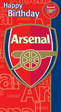 Arsenal Happy Birthday Card FREE 1ST CLASS POSATGE (AS036)