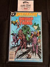 SWAMP THING #50 FNVF NEWSSTAND variant 1st JUSTICE LEAGUE DARK DC Comics