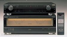 Technics Power Amplifier SE-A909S with Technics Control Amplifier SU-C909U