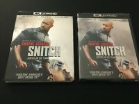 "Snitch (4K Ultra HD / Blu-ray, 2013) Dwayne ""The Rock"" Johnson, with Slipcover"