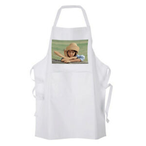 Personalised White  Adult Apron with your Image / Text / Image & Text