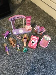 Girls Mini Toys Bundle Mini Dolls Pony Car Ballet