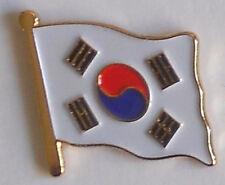 South Korea Country Flag Enamel Pin Badge