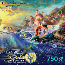 Thomas Kinkade Little Mermaid 750 piece Ceaco Jigsaw Puzzle Disney