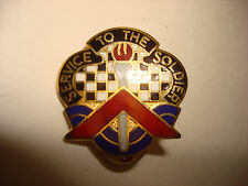 US 18th PERSONNEL & ADMINISTRATION BN Distinctive Unit Insignia By DENMARK, NY
