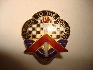 États-Unis 18th Personnel & Administration Bn Distinctif Unit Insigne Par