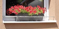Blumenkastenhalterung von 1,00 bis 1,50 m  Edelstahl ohne Bohren Teleskopstange