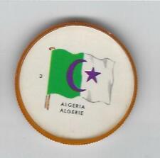 1963 General Mills Flags of the World Premium Coins #3 Algeria