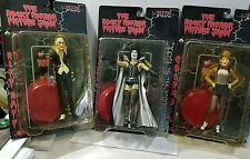 ROCKY HORROR PICTURE SHOW SET THREE FIGURES FRANKENFURTER COLUMBIA RIFF RAFF NIP