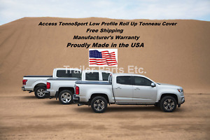Access TONNOSPORT Roll Up Cover 2017-2020 Ford S Duty F-250 F-350 F-450 6'8 Bed