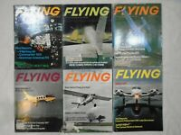 FLYING AVIATION MAGAZINE ENGLISH LOT OF 6 MONTHS JULY-DECEMBER 1974 VINTAGE