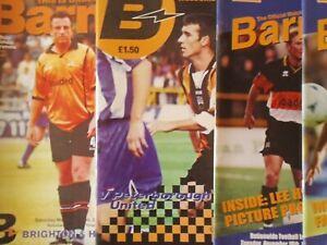 BARNET HOME PROGRAMMES SEASON  1997/98 - 1999/00