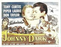 """Tony Curtis is """"JOHNNY DARK"""" made in 1954 on DVD"""