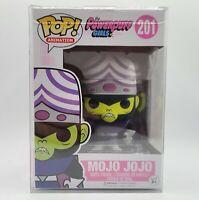 Funko Pop! Animation Cartoon Network Power Puff Girls #201 Mojo Jojo w Protector