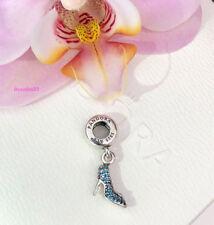 Pandora Disney Cinderella's Sparkling Slipper Charm Bead, Brand New, #791470CFL
