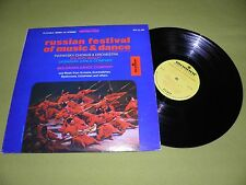 "Russian Festival Of Music & Dance - RARE Original 1967 USA ""Monitor"" EX STEREO"