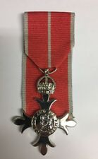 MBE Member Of The British Empire Full Size Medal Military Copy Superb Replica