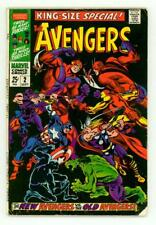 AVENGERS SPECIAL #2 VG+ 4.5 BATTLE ORIGINAL AVENGERS COMIC 1968