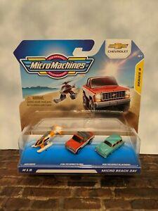 """2021 Hasbro, Micro Machines, Series 5 Starter Pack, """"#19 MICRO BEACH DAY"""""""