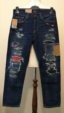 """Polo Ralph Lauren Avery Boyfriend Distressed Jeans Blue Size 26""""W"""