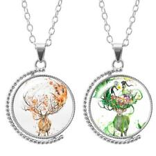 Rodio Giratorio ciervo collar - 2 diseños en cada cg1410