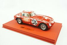 1/18 BBR FERRARI 375MM CAR #26 PANAMARICANA DELUXE RED LEATHER BASE LE 3 PC MR