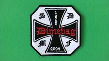RARE Dimebag Black Label Society Iron On Patch! New BLS Pantera Zakk Wylde