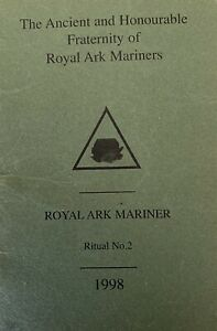 Masonic: Royal Ark Mariners Ritual No 2 Booklet