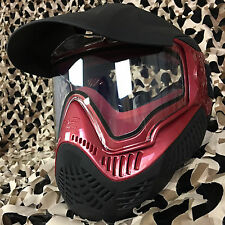 NEW Valken Sly Annex MI-9 Thermal Anti-Fog Paintball Mask Goggle - Red